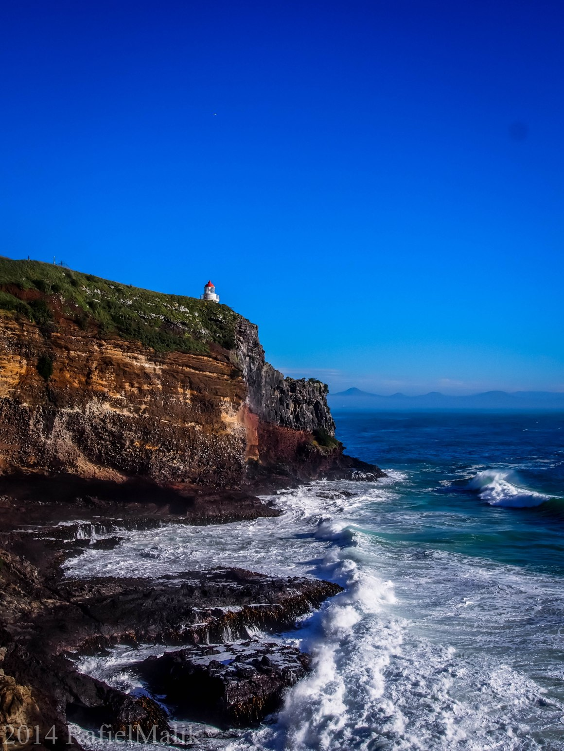 Photography | Taiaroa Head lighthouse | Otago Peninsular, NZ